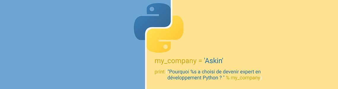 Askin expert en développement Python et Django
