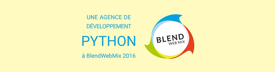 Agence de développement Python à Blendwebmix