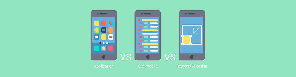 Web Mobile vs Site web responsive