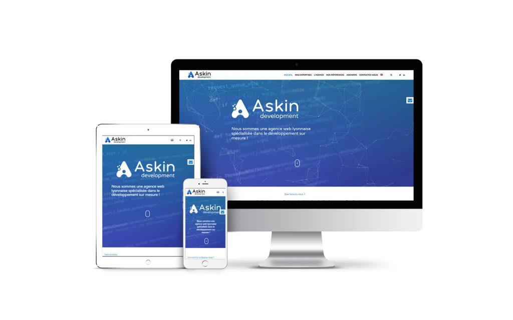Charte graphique Askin responsive