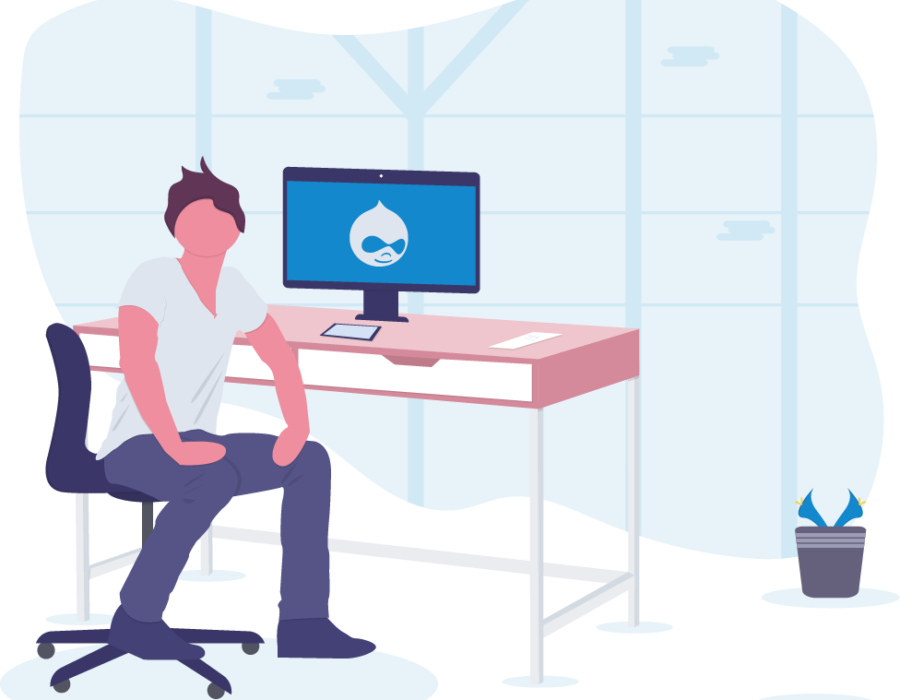 Développement projet plateforme web CMS Drupal